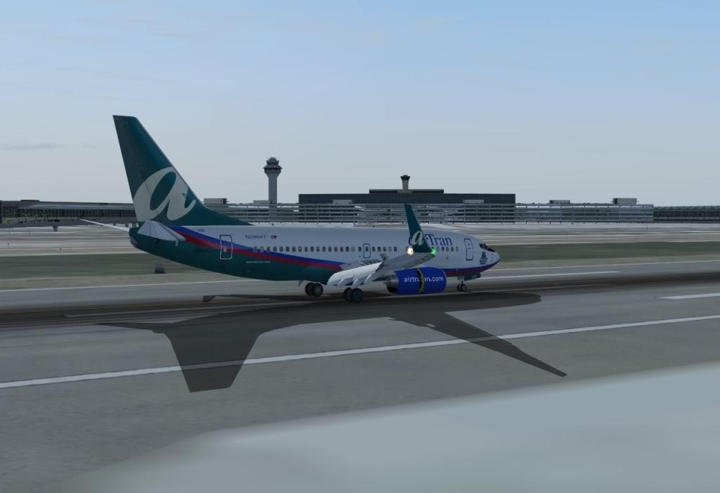 New York - Chicago | AirTran B737-700 Shot0019