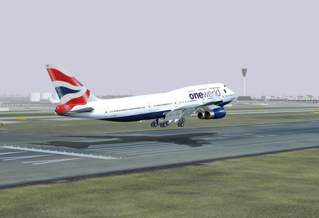 Arriving in London - BAW192 Shot00311