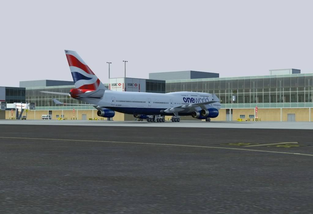Arriving in London - BAW192 Shot0033