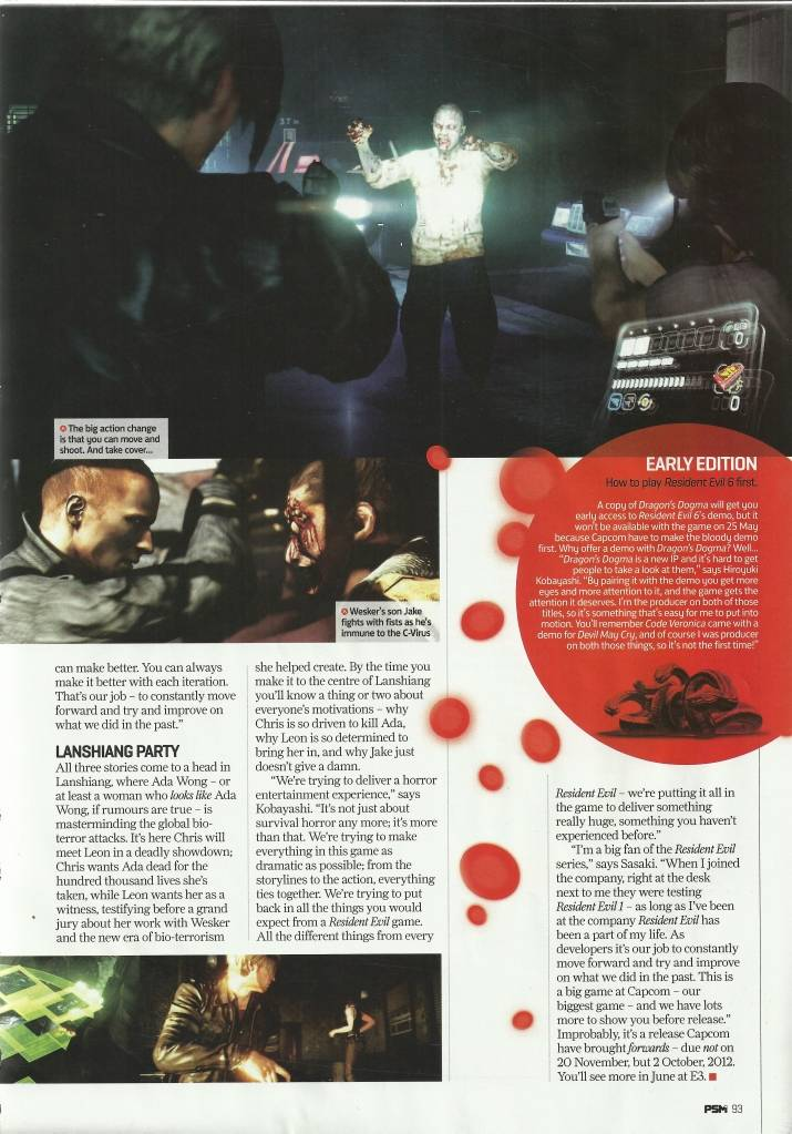 Resident Evil 6 - Discussion (Must Read!) - Page 2 8-3