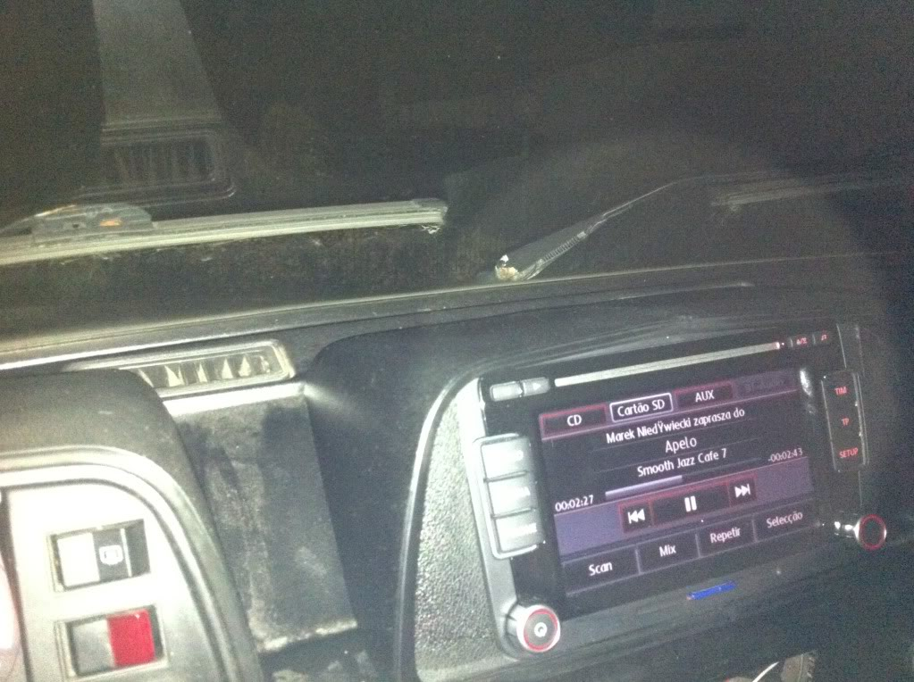 vw t3 Fredcor - novo radio Iphone4009