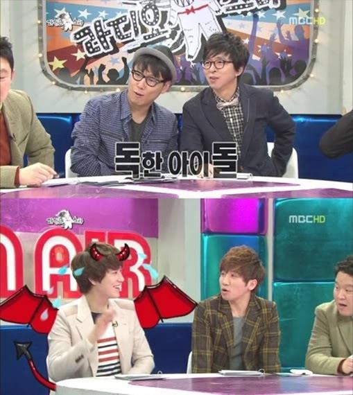 [120301] KyuHyun de Super Junior le habla con mordacidad a Joo Young Hoon 4
