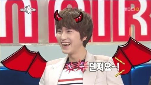 [120301] KyuHyun de Super Junior le habla con mordacidad a Joo Young Hoon 6