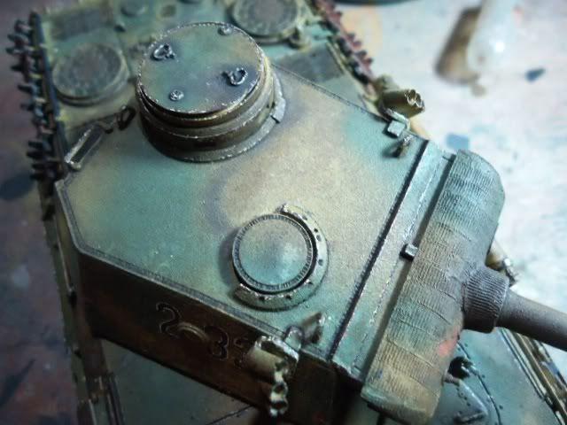 PANTHER AusF. D/ ZIMMETIR - DRAGON /1/35 -FINALIZADO DSC00031