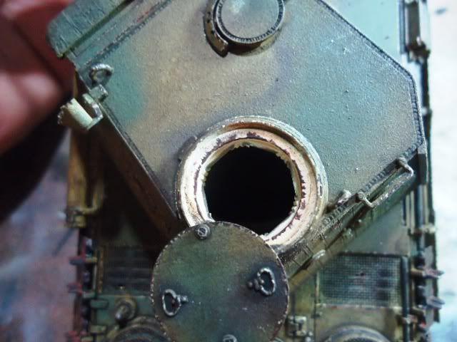 PANTHER AusF. D/ ZIMMETIR - DRAGON /1/35 -FINALIZADO DSC00033