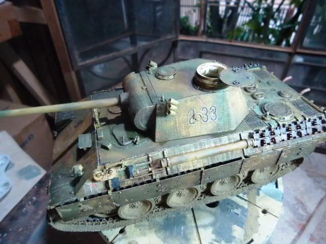 PANTHER AusF. D/ ZIMMETIR - DRAGON /1/35 -FINALIZADO DSC00037