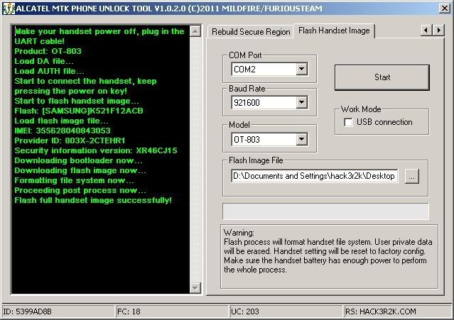 28/10/2011 [PACK8] AlcatelMTKPhoneUnlockTool v1.0.2.0 RELEASED ! 2-1