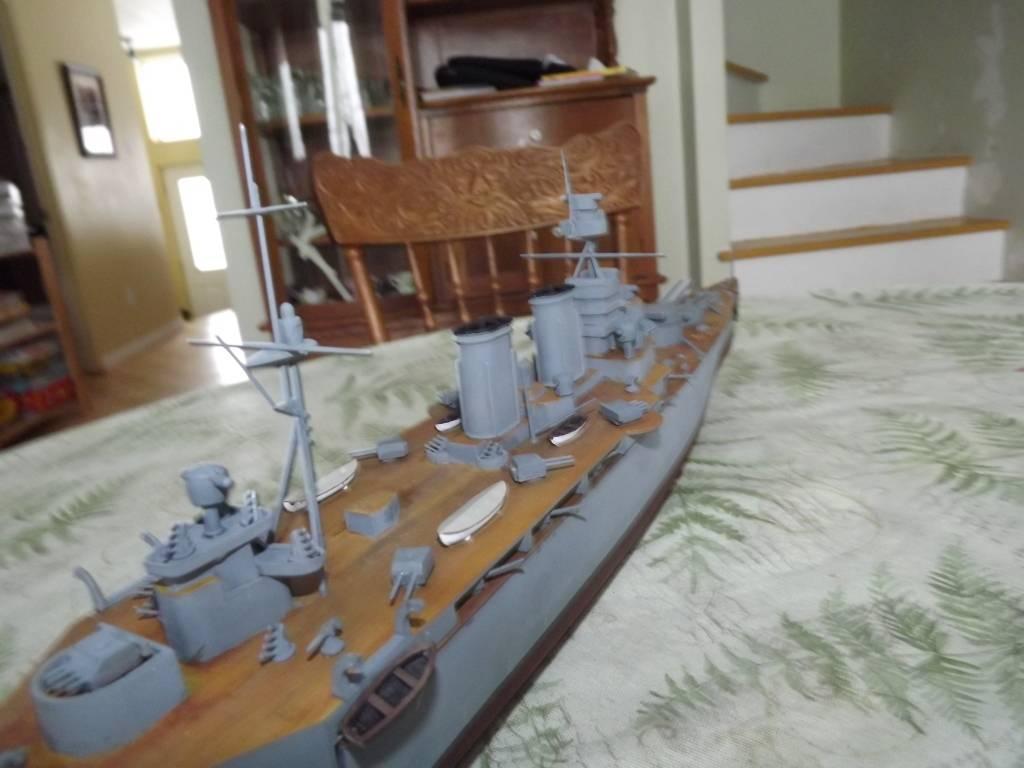 HMS Hood de Lindberg au 1/400 DSCF1161