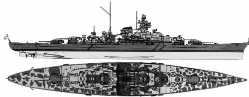 Tirpitz de Revell au 1/570 DKMTirpitzLIMITEDto500px
