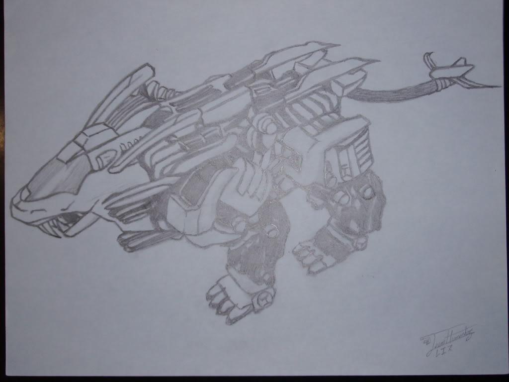 Mis Dibujos Zoids