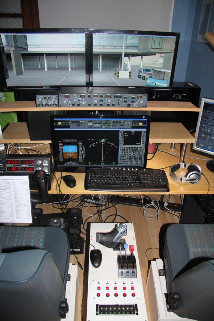 Présentation d'un petit belge Cockpit2