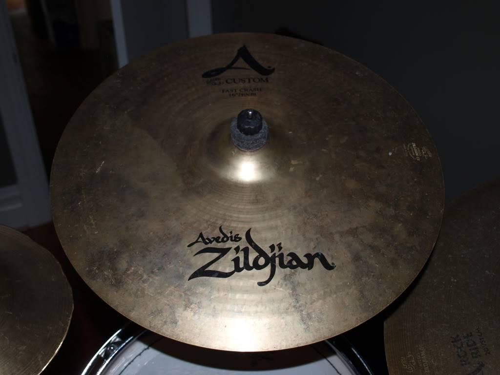 doin my best j gonzales impression: sellin shit! Zildjian16Crash