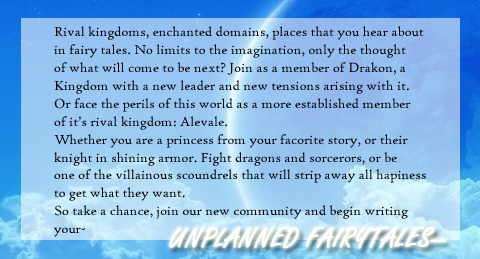 Unplanned Fairytales [lb] Advertisement