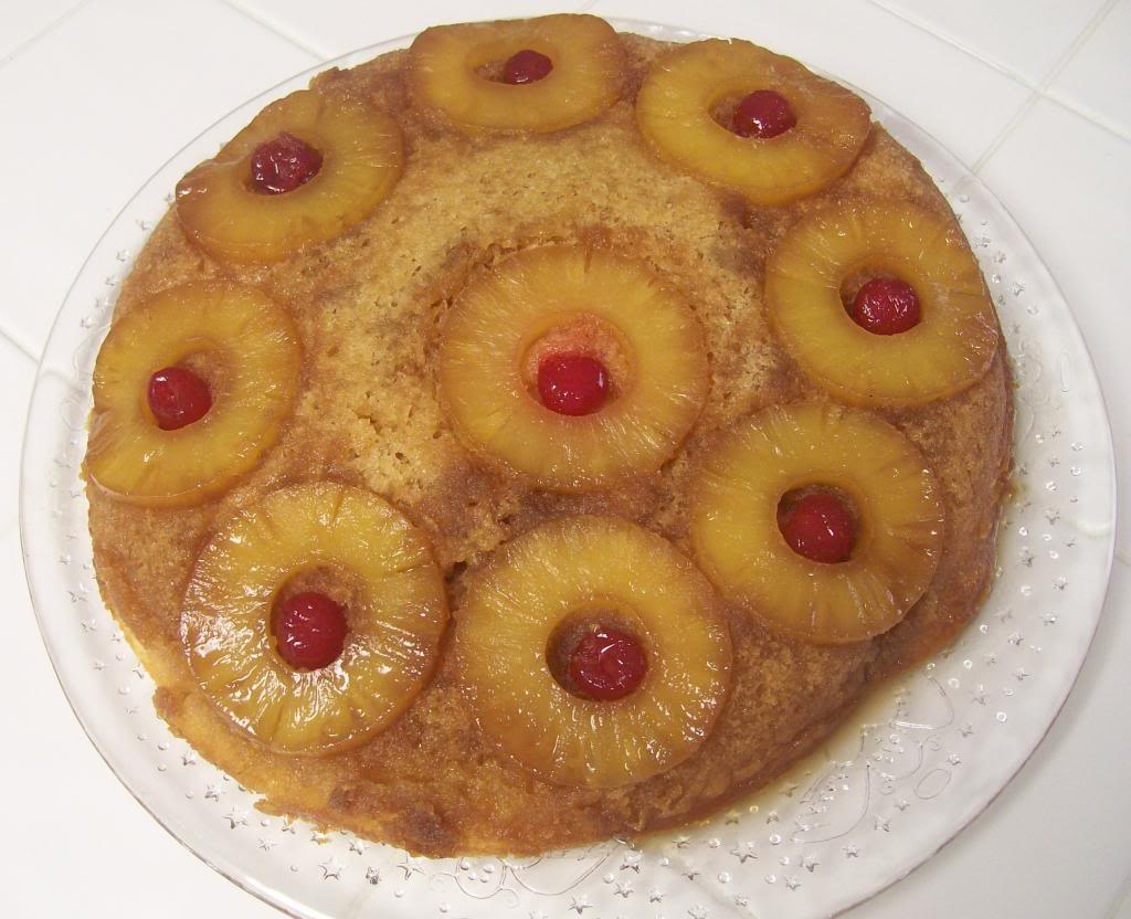 Pineapple Upside Down Cake PUDCake111213