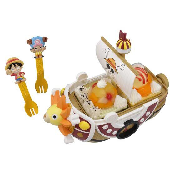 Postre de One Piece en forma del Thousand Sunny Postre-de-One-Piece-en-forma-del-Thousand-Sunny