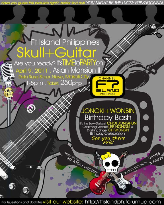 [FAN GATHERING] Skull and Guitars (HongHun + Binnie) [DONE] Asianmansions2