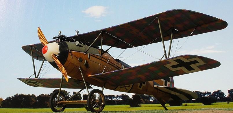 Albatros D.Va  Wingnut Wings DSC04135