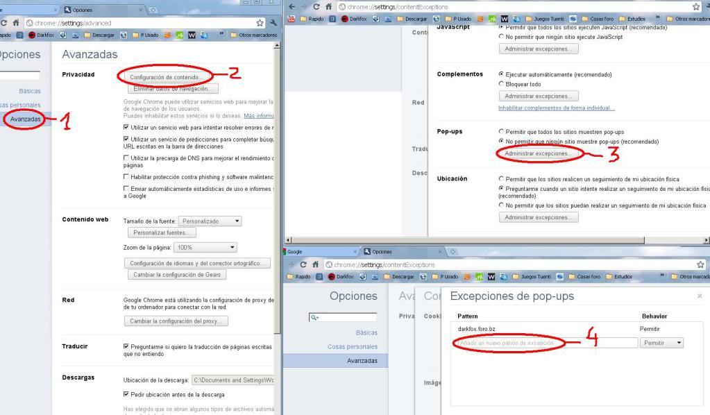 Como activar el ''PopUp'' de mensaje Privado 2c