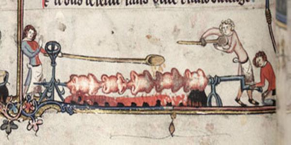 asador medieval Olla2
