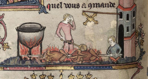 asador medieval Olla3