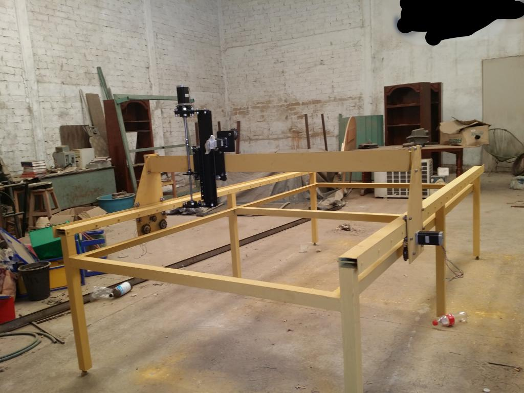 Mi proyecto CNC plasma Mill 20140726_125449