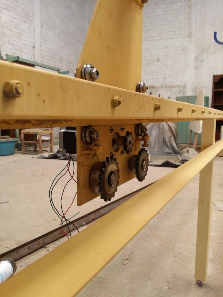 Mi proyecto CNC plasma Mill 20140726_125529