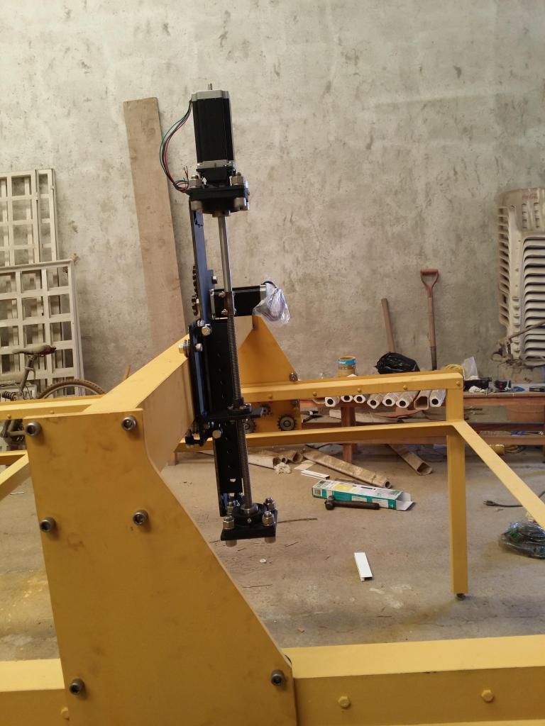 Mi proyecto CNC plasma Mill 20140726_125543