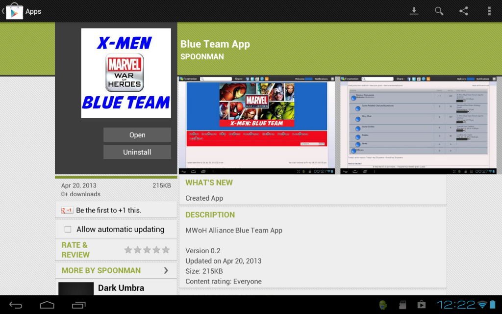X-Men: Blue Team Forum App for Android Screenshot_2013-04-20-12-22-03_zps0c964d31
