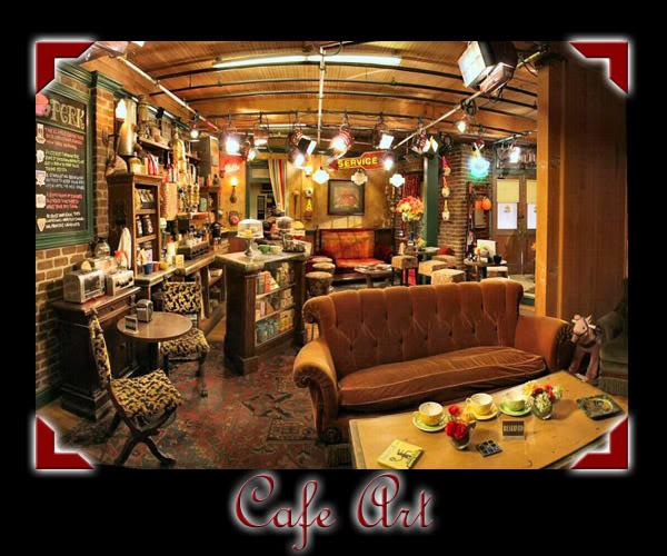 Café Art en la academia CafeArt