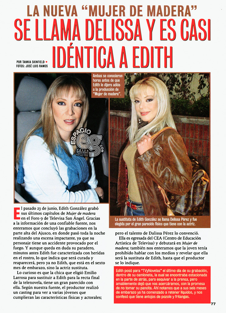 Tag mujerdemadera en Espacio EG - Edith González Delissa