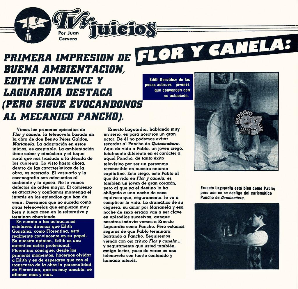 Tag florycanela en Espacio EG - Edith González FYC4