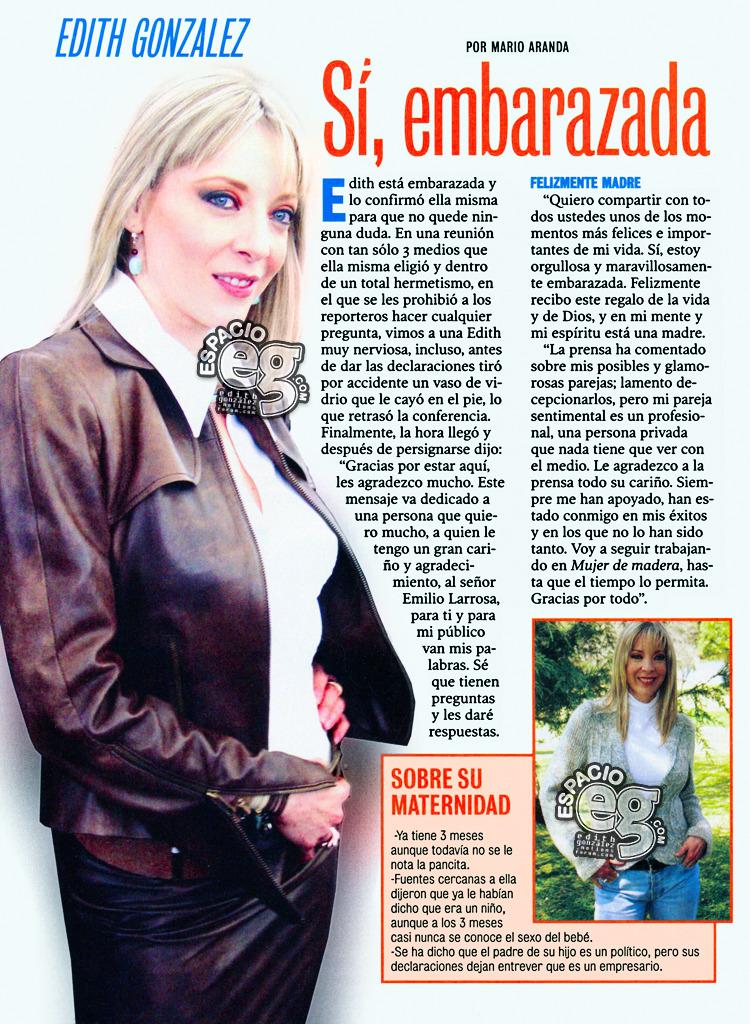 Tag mujerdemadera en Espacio EG - Edith González Embarazo
