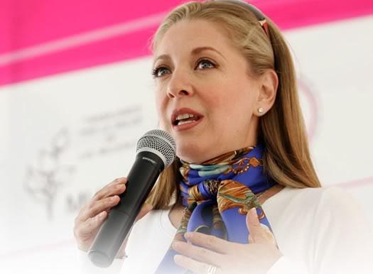 mamá - 2011-03-23. [ FOTOS & NOTAS ] Edith promueve prevención del cáncer de mama Prevencion1