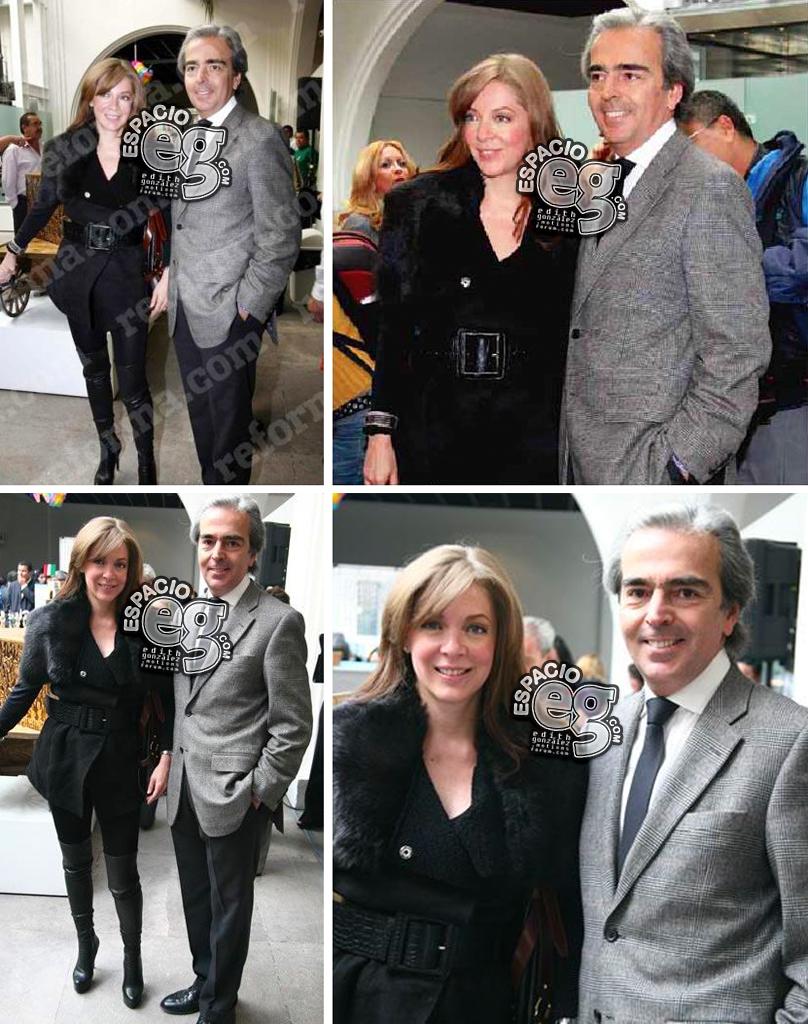 2010-12-08. [ FOTOS & SCAN ] Edith González y familia en la exhibición del Vochol Vochol2