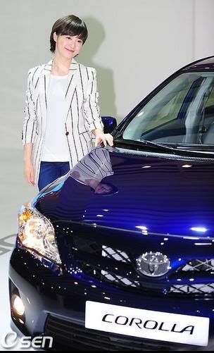 [Photo] Hye Sun tại buổi ra mắt Toyota - Page 3 Toyota10