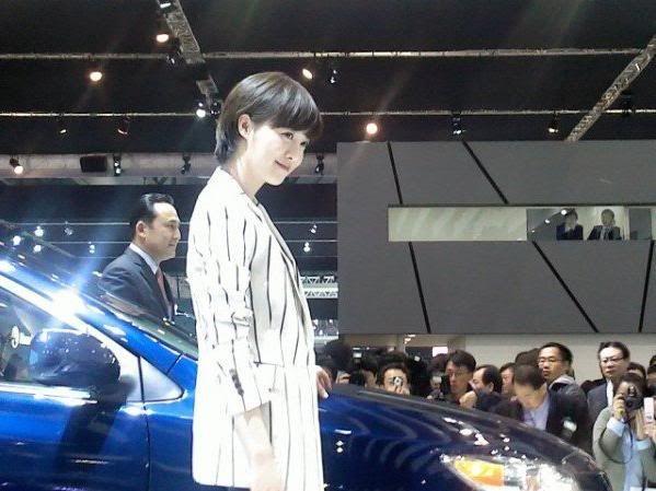 [Photo] Hye Sun tại buổi ra mắt Toyota - Page 3 Toyota15