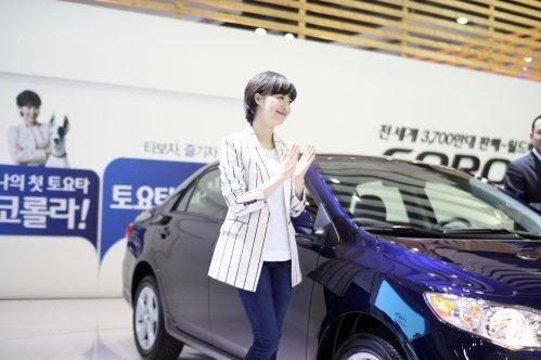 [Photo] Hye Sun tại buổi ra mắt Toyota - Page 3 Toyota16