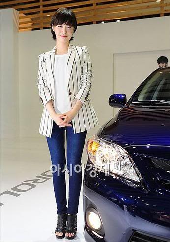[Photo] Hye Sun tại buổi ra mắt Toyota - Page 3 Toyota23