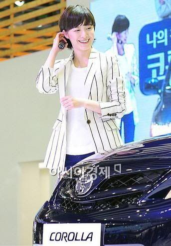 [Photo] Hye Sun tại buổi ra mắt Toyota - Page 3 Toyota28
