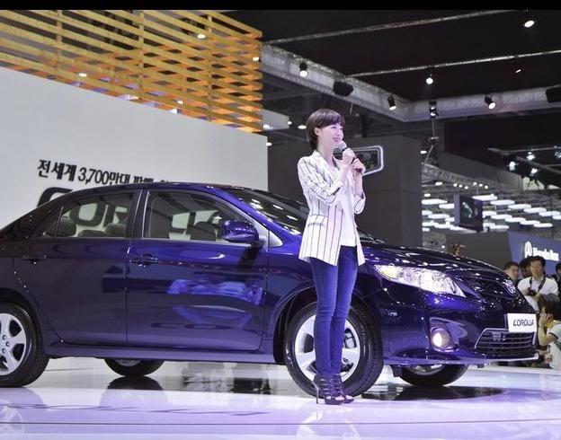 [Photo] Hye Sun tại buổi ra mắt Toyota - Page 3 Toyota33