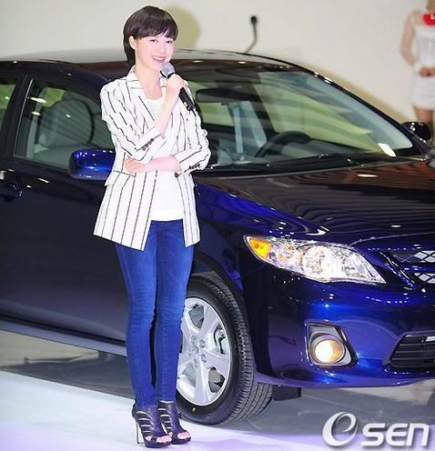 [Photo] Hye Sun tại buổi ra mắt Toyota - Page 3 Toyota9