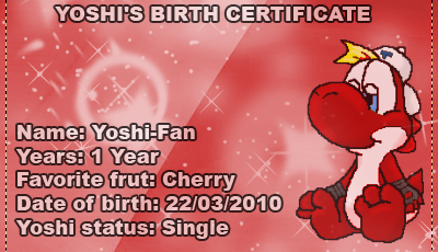 A new adventure in Nightmare Village Yoshi-fanbirthcertificate