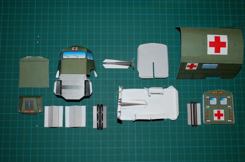 Les réalisations Type H en papier de Erwin Parts