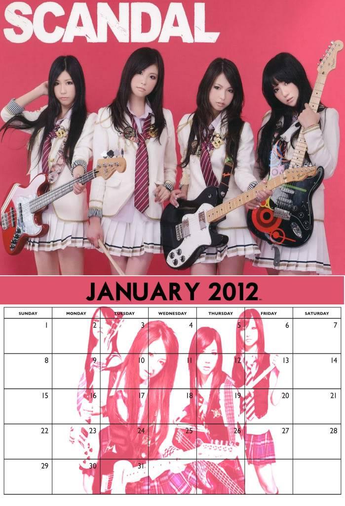2012 SCANDAL Calendar Idea JANdraft