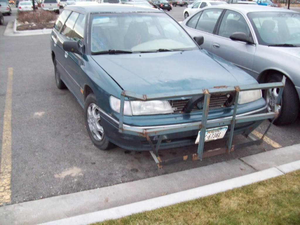 Custom front bumper 100_0018