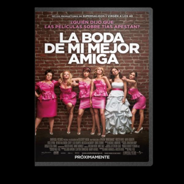 La Boda De Mi Mejor Amiga [MKV-DVDRIP-ESL]   Bodacover