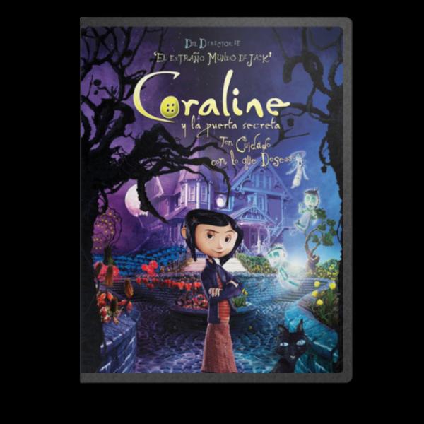 Coraline Y La Puerta Secreta [MKV-BRRIP-ESP]   Coralinecover