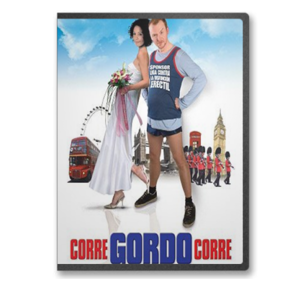 Corre Gordo Corre [MKV-BRRIP-ESP]   Gordocover