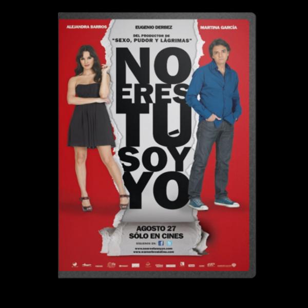 No Eres Tú Soy Yo [MKV-DVDRIP-ESP]   Noerestucover