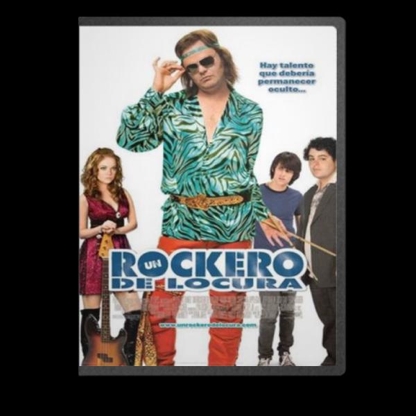 Un Rockero De Locura [MKV-DVDRIP-ESP]   Unrockerocover